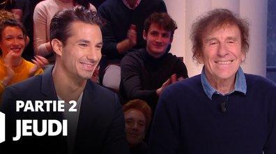 Quotidien, deuxième partie du 12 décembre 2019 avec Jérémy Ferrari et Alain Souchon