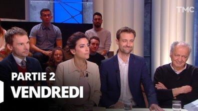 Quotidien, deuxième partie du 13 mars 2020 avec Luc Périno, Frédéric Says, Anna Cabana et Ludovic Vigogne
