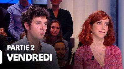Quotidien, deuxième partie du 14 février 2020 avec Vincent Lacoste et Pénélope Bagieu