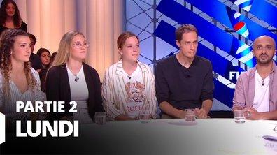 Quotidien, deuxième partie du 17 juin 2019 avec Grands Corps Malade, Mehdi Idir, Lisa Martinez, Eva Kouache et Emeleine Saint-Georges