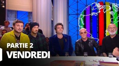 Quotidien, deuxième partie du 20 décembre 2019 avec McFly et Carlito, M et Pierre & Gilles