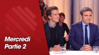 Quotidien, deuxième partie du 23 janvier 2019 avec David Pujadas, Gaspard Gantzer et Franck Louvrier