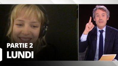 Quotidien, deuxième partie du 23 mars 2020 avec Angèle, Karine Lacombe et Fabrice d'Almeida