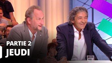 Quotidien, deuxième partie du 23 mai 2019 avec Benoît Poelvoorde et Rudy Ricciotti