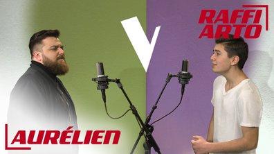 La Vox des talents : Raffi Arto vs Aurélien | A hard day night | The Beatles