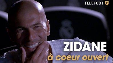 [EXCLU Téléfoot 03/09] Zinédine Zidane à coeur ouvert