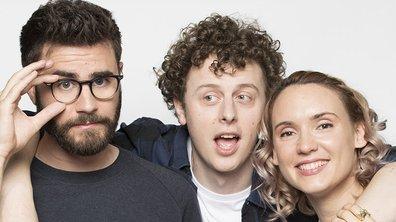 """Norman, Cyprien et Natoo débarquent sur TF1 dans """"Presque Adultes"""""""