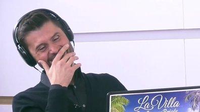 Christophe Beaugrand HALLUCINE devant l'épisode 1 de La Villa