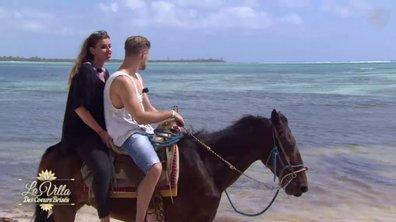Elodie et Alex, balade à cheval sous le soleil du Mexique
