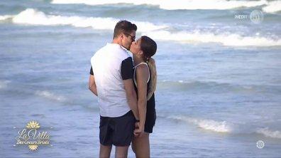 Martika et Elie, love sur la plage