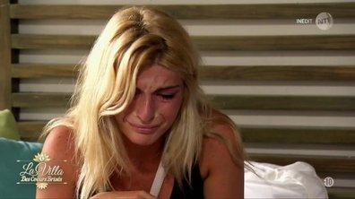 Mélanie fond en larmes en plein coaching