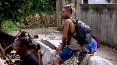 La randonnée à cheval vire au cauchemar pour Eddy
