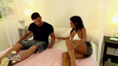 Avec Romain, Nathalie sort le grand jeu...