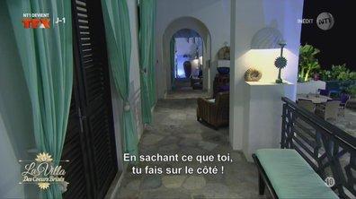 Stéphanie remballe Florent : « CASSE-TOI de ma chambre »