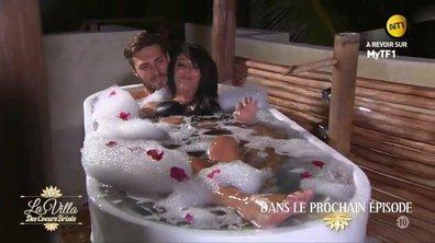 Vendredi, Céline et Romain vivent un moment romantique