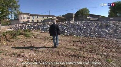 Villegailhenc, trois ans après les inondations meurtrières