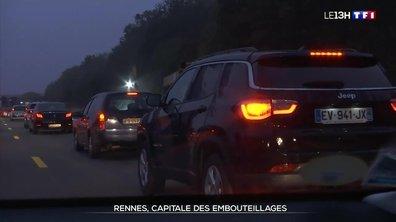 Villes les plus embouteillées : Rennes en tête du classement