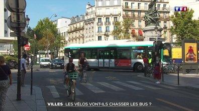 Villes : les vélos vont-ils chasser les bus ?