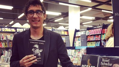 Vincent Vinel sort son premier livre aujourd'hui !