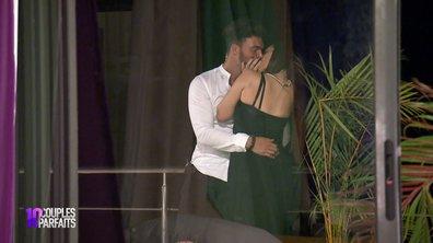 Safia embrasse passionnément Vincent pour se faire pardonner