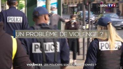 Violences : les policiers sont-ils sanctionnés ?