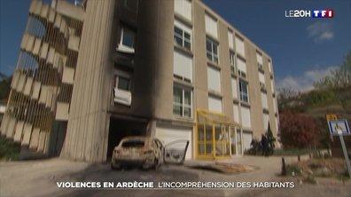 Violences urbaines : la colère et l'incompréhension des habitants d'Aubenas.