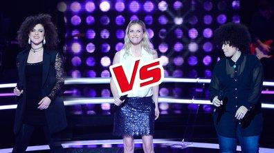 Virginie VS Melodie Pastor VS Kora , battles à 3 sur « Love Me Again » (John Newman). (Saison 05)