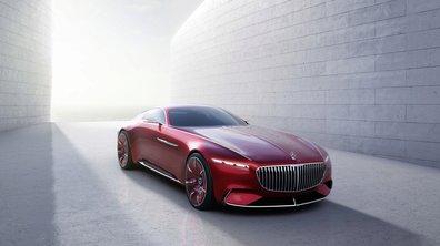 Le concept Vision Mercedes-Maybach 6 en fuite sur le net