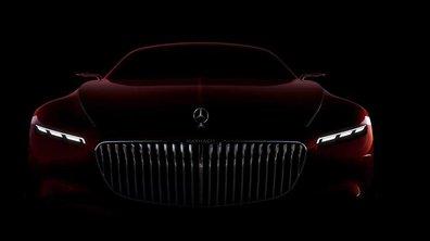 Le concept Mercedes-Maybach montre sa calandre