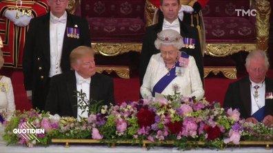 La visite sans aucun sens de Donald Trump à Buckingham Palace