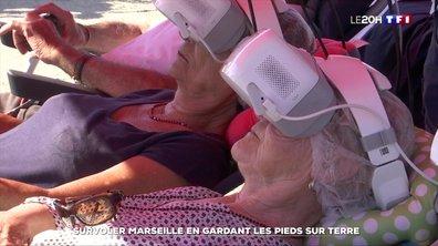 Visite virtuelle : survoler Marseille en gardant les pieds sur terre