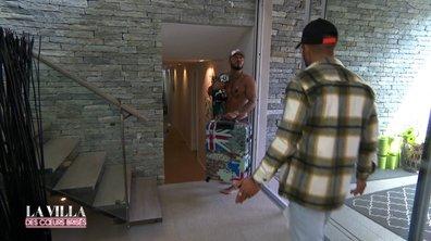 Après une dispute avec Eva,Vivian quitte la villa