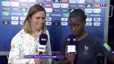Viviane Asseyi, seule satisfaction de Nigeria - France