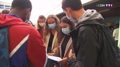 Vivre avec un masque : comment les lycéens s'en accommodent-ils ?