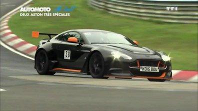 No Limit : Essai des Aston Martin Vantage GT12 et N430