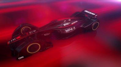 McLaren MP4-X Concept 2015 : présentation officielle