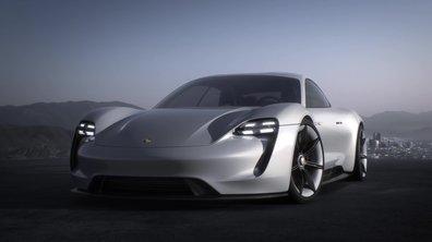 Porsche Mission E Concept 2015 : présentation officielle