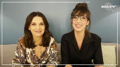 Qoulisses avec Juliette Binoche et Nora Hamzawi !