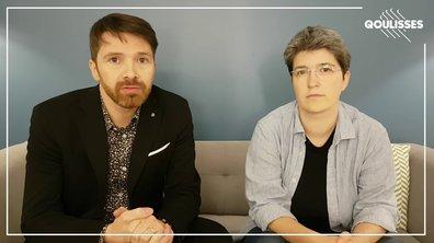 Sébastien Arsac et Brigitte Gothière, cofondateurs de l'association L214 !