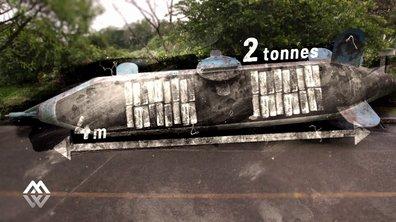 Le sous-marin, discret moyen de transport pour tonnes de cocaïne