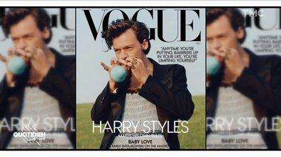 Flash Mode : Harry Styles en robe pour Vogue, de quoi rendre dingue l'Amérique