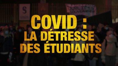 Quotidien ++: Covid, la détresse des étudiants