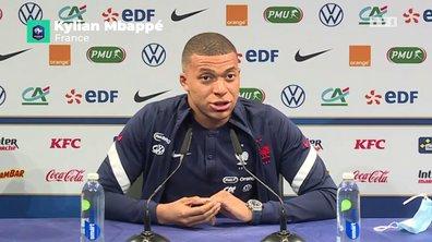 """Kylian Mbappé sur la remarque d'Olivier Giroud : """"on ne va pas en faire toute une histoire"""""""