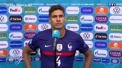 """Raphael Varane :""""Il nous a manqué de tout"""""""