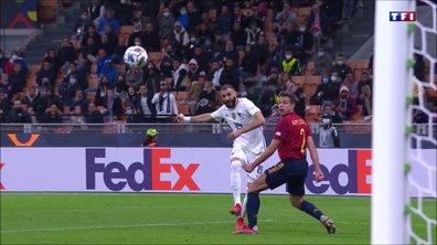 Espagne - France (1-1) : Le but PHENOMENAL de Karim Benzema en vidéo