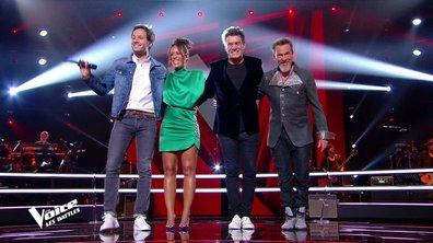"""The Voice 2021 - Les coachs chantent """"Temps à nouveau"""" de Jean-Louis Aubert"""
