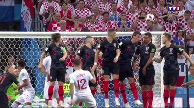 VIDÉO - Croatie-Angleterre : le coup franc somptueux de Trippier qui donne l'avantage aux Anglais