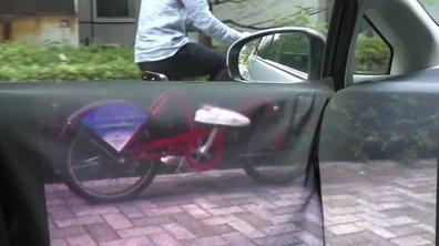 Insolite : La voiture transparente vue de l'intérieur