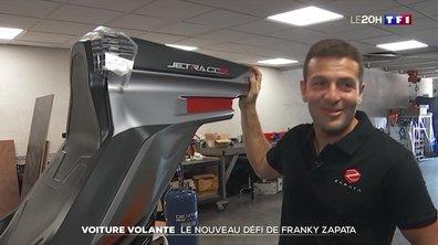 Voiture volante : le nouveau défi de Franky Zapata