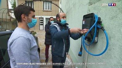 Voitures électriques : des bornes plus accessibles et moins chères